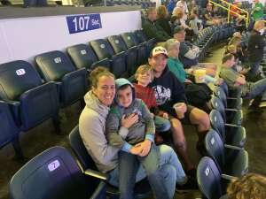 Mandy attended Florida Everblades vs. Greenville Swamp Rabbits - ECHL on Jun 2nd 2021 via VetTix
