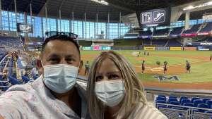 Rico attended Miami Marlins vs. Arizona Diamondbacks - MLB on May 6th 2021 via VetTix