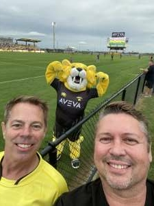 Terrence attended Houston Sabercats vs. Toronto Arrows - Major League Rugby on May 15th 2021 via VetTix