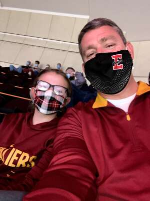 John attended Cleveland Cavaliers vs. Indiana Pacers - NBA on May 10th 2021 via VetTix