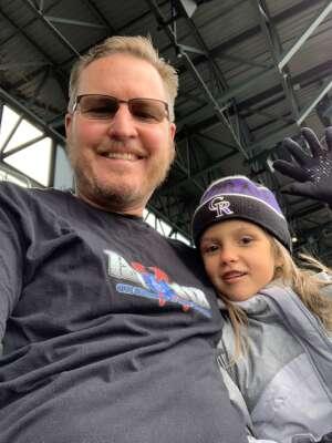 Tag attended Colorado Rockies vs. San Diego Padres on May 11th 2021 via VetTix