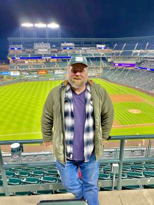 Mike attended Colorado Rockies vs. San Diego Padres on May 11th 2021 via VetTix