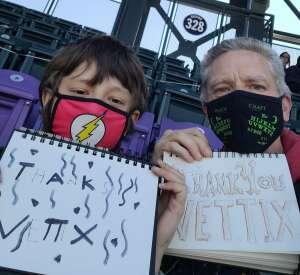 Tony and Charlie attended Colorado Rockies vs. San Diego Padres on May 12th 2021 via VetTix