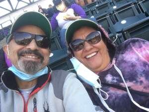 Edward Lucero attended Colorado Rockies vs. San Diego Padres on May 12th 2021 via VetTix
