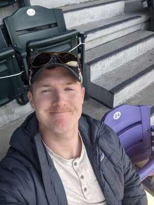 Michael attended Colorado Rockies vs. San Diego Padres on May 12th 2021 via VetTix