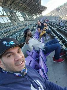 Rene attended Colorado Rockies vs. San Diego Padres on May 12th 2021 via VetTix