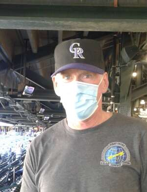 Jerome attended Colorado Rockies vs. San Diego Padres on May 12th 2021 via VetTix