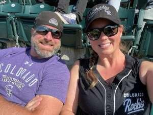John attended Colorado Rockies vs. San Diego Padres on May 12th 2021 via VetTix