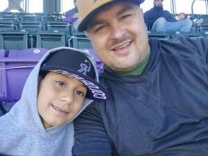 Brandon attended Colorado Rockies vs. San Diego Padres on May 12th 2021 via VetTix