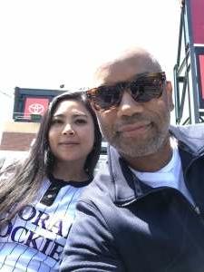 Malcolm  attended Colorado Rockies vs. San Diego Padres on May 12th 2021 via VetTix