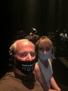 Brendan attended Blindness on May 14th 2021 via VetTix