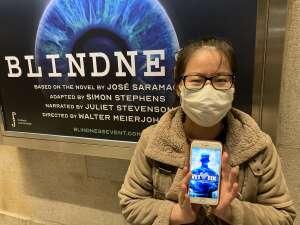 Yuki attended Blindness on May 13th 2021 via VetTix
