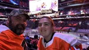 Mark attended Philadelphia Flyers vs. New Jersey Devils - NHL ** Military Appreciation Night ** Please Read Event Notes ** on May 10th 2021 via VetTix