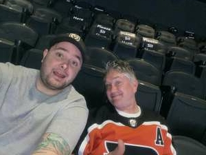 Michael L attended Philadelphia Flyers vs. New Jersey Devils - NHL ** Military Appreciation Night ** Please Read Event Notes ** on May 10th 2021 via VetTix