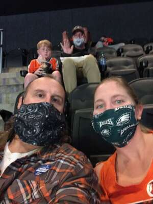 James attended Philadelphia Flyers vs. New Jersey Devils - NHL ** Military Appreciation Night ** Please Read Event Notes ** on May 10th 2021 via VetTix