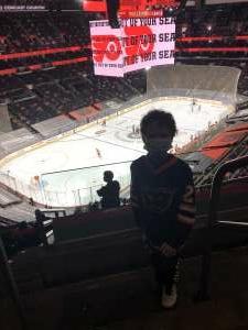 Shane attended Philadelphia Flyers vs. New Jersey Devils - NHL ** Military Appreciation Night ** Please Read Event Notes ** on May 10th 2021 via VetTix