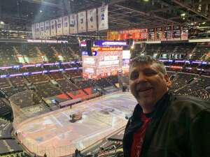 Bruce Robison attended Philadelphia Flyers vs. New Jersey Devils - NHL ** Military Appreciation Night ** Please Read Event Notes ** on May 10th 2021 via VetTix