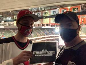 Stephen attended Philadelphia Flyers vs. New Jersey Devils - NHL ** Military Appreciation Night ** Please Read Event Notes ** on May 10th 2021 via VetTix