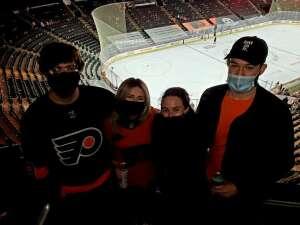 Edward  attended Philadelphia Flyers vs. New Jersey Devils - NHL ** Military Appreciation Night ** Please Read Event Notes ** on May 10th 2021 via VetTix