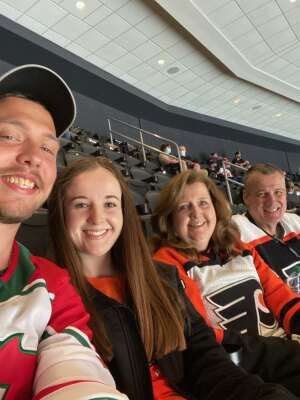 Brian attended Philadelphia Flyers vs. New Jersey Devils - NHL ** Military Appreciation Night ** Please Read Event Notes ** on May 10th 2021 via VetTix