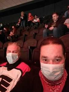 Art Mendoza  attended Philadelphia Flyers vs. New Jersey Devils - NHL ** Military Appreciation Night ** Please Read Event Notes ** on May 10th 2021 via VetTix