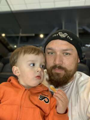 Michael attended Philadelphia Flyers vs. New Jersey Devils - NHL ** Military Appreciation Night ** Please Read Event Notes ** on May 10th 2021 via VetTix