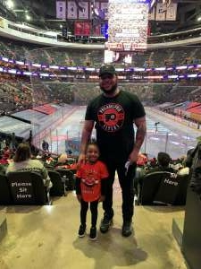 Kevin L attended Philadelphia Flyers vs. New Jersey Devils - NHL ** Military Appreciation Night ** Please Read Event Notes ** on May 10th 2021 via VetTix