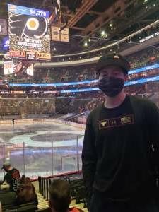 shawn palko  attended Philadelphia Flyers vs. New Jersey Devils - NHL ** Military Appreciation Night ** Please Read Event Notes ** on May 10th 2021 via VetTix