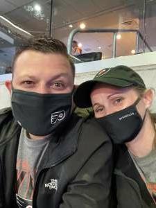 Jbaldasano attended Philadelphia Flyers vs. New Jersey Devils - NHL ** Military Appreciation Night ** Please Read Event Notes ** on May 10th 2021 via VetTix