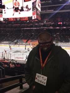 James JJ Jordan  attended Philadelphia Flyers vs. New Jersey Devils - NHL ** Military Appreciation Night ** Please Read Event Notes ** on May 10th 2021 via VetTix