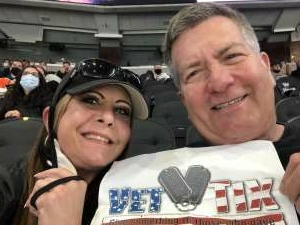Scott Lehman attended Philadelphia Flyers vs. New Jersey Devils - NHL ** Military Appreciation Night ** Please Read Event Notes ** on May 10th 2021 via VetTix