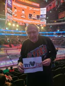 Steve attended Philadelphia Flyers vs. New Jersey Devils - NHL ** Military Appreciation Night ** Please Read Event Notes ** on May 10th 2021 via VetTix