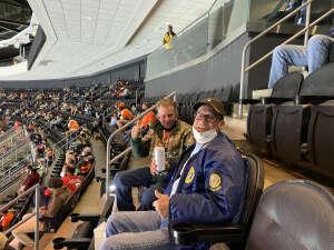 Skip Bates attended Philadelphia Flyers vs. New Jersey Devils - NHL ** Military Appreciation Night ** Please Read Event Notes ** on May 10th 2021 via VetTix