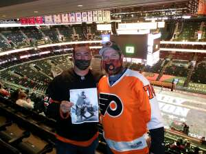 Chris attended Philadelphia Flyers vs. New Jersey Devils - NHL ** Military Appreciation Night ** Please Read Event Notes ** on May 10th 2021 via VetTix