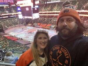 Kerri Harmon attended Philadelphia Flyers vs. New Jersey Devils - NHL ** Military Appreciation Night ** Please Read Event Notes ** on May 10th 2021 via VetTix