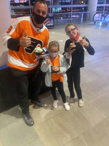 Rick Rodgers attended Philadelphia Flyers vs. New Jersey Devils - NHL ** Military Appreciation Night ** Please Read Event Notes ** on May 10th 2021 via VetTix