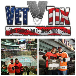 Mike P attended Philadelphia Flyers vs. New Jersey Devils - NHL ** Military Appreciation Night ** Please Read Event Notes ** on May 10th 2021 via VetTix