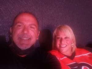 Carmen attended Philadelphia Flyers vs. New Jersey Devils - NHL ** Military Appreciation Night ** Please Read Event Notes ** on May 10th 2021 via VetTix