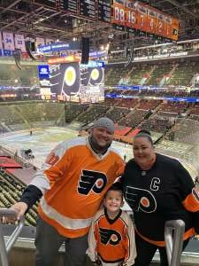 Chris N attended Philadelphia Flyers vs. New Jersey Devils - NHL ** Military Appreciation Night ** Please Read Event Notes ** on May 10th 2021 via VetTix