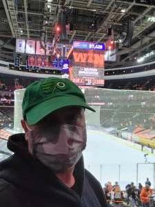 Matt attended Philadelphia Flyers vs. New Jersey Devils - NHL ** Military Appreciation Night ** Please Read Event Notes ** on May 10th 2021 via VetTix