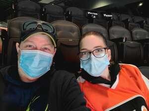 Bill attended Philadelphia Flyers vs. New Jersey Devils - NHL ** Military Appreciation Night ** Please Read Event Notes ** on May 10th 2021 via VetTix