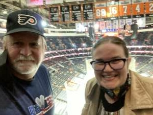 Tim S attended Philadelphia Flyers vs. New Jersey Devils - NHL ** Military Appreciation Night ** Please Read Event Notes ** on May 10th 2021 via VetTix