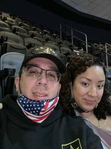M.A attended Philadelphia Flyers vs. New Jersey Devils - NHL ** Military Appreciation Night ** Please Read Event Notes ** on May 10th 2021 via VetTix