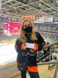 Kevin attended Philadelphia Flyers vs. New Jersey Devils - NHL ** Military Appreciation Night ** Please Read Event Notes ** on May 10th 2021 via VetTix