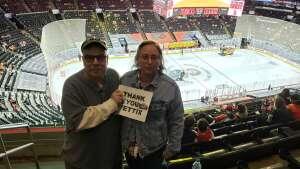 JK attended Philadelphia Flyers vs. New Jersey Devils - NHL ** Military Appreciation Night ** Please Read Event Notes ** on May 10th 2021 via VetTix