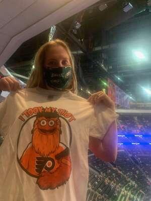 Meagan attended Philadelphia Flyers vs. New Jersey Devils - NHL ** Military Appreciation Night ** Please Read Event Notes ** on May 10th 2021 via VetTix
