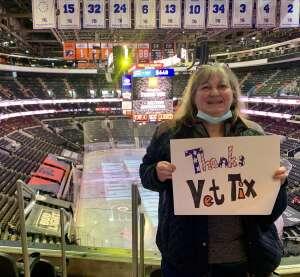 Nancy M attended Philadelphia Flyers vs. New Jersey Devils - NHL ** Military Appreciation Night ** Please Read Event Notes ** on May 10th 2021 via VetTix