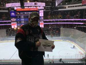 Robert attended Philadelphia Flyers vs. New Jersey Devils - NHL ** Military Appreciation Night ** Please Read Event Notes ** on May 10th 2021 via VetTix