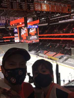 Danny attended Philadelphia Flyers vs. New Jersey Devils - NHL ** Military Appreciation Night ** Please Read Event Notes ** on May 10th 2021 via VetTix