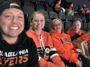 Justin attended Philadelphia Flyers vs. New Jersey Devils - NHL ** Military Appreciation Night ** Please Read Event Notes ** on May 10th 2021 via VetTix